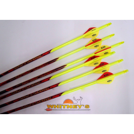 Black Eagle Black Eagle Outlaw Arrows - Yellow Crested - 300 - Half Dz.