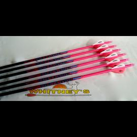 Black Eagle Black Eagle Outlaw Arrows - Pink Crested - 500 - Half Dz.
