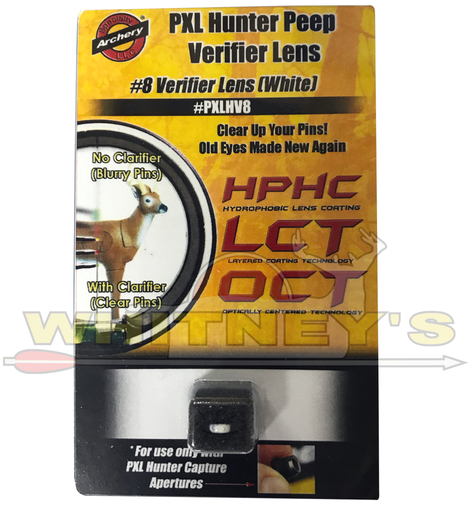 Specialty Archery PXL Hunter Peep Shade Cap