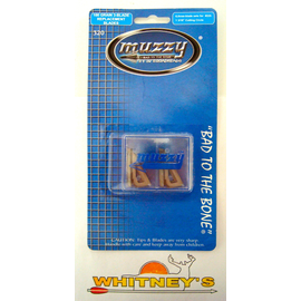 Muzzy Products Muzzy 100 Gr. 3-Blade Replacement Broadhead Blades-320