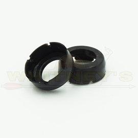 Rage Rage Replacement Broadheads & Shock Collars- 3-Blades Chisel Tip , X-20PK-R60107