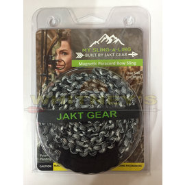 Jakt Gear Jakt Gear My Sling-A-Ling Magnetic Paracord Bow Sling - Shades of Gray Camo-(BLACK/CHARCOAL)