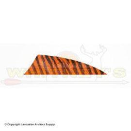 """Black Eagle Black Eagle 4"""" BEA Barred Feathers - Orange"""