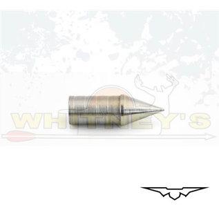 Black Eagle Black Eagle PS27 Nock Crusher Adjustable Glue-In Target Points - 200 Gr. - (Box) 12 Pack