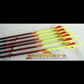 Black Eagle Black Eagle Outlaw Arrows - Yellow Crested - 350 - Half Dz.