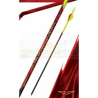 "Black Eagle Black Eagle Outlaw Arrows - Yellow Crest - 400  Spine/.005""- Half Dz."