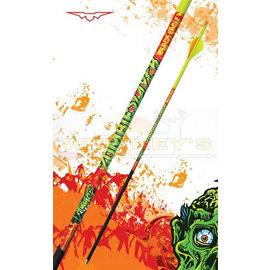 "Black Eagle Black Eagle Zombie Slayer Fletched Arrows - .003"" - Half Dz. - 500"