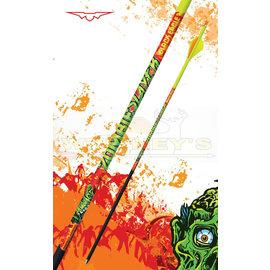 "Black Eagle Black Eagle Zombie Slayer Fletched Arrows - 300 - Half Dz. - .001"""