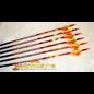 """Black Eagle Black Eagle Spartan Fletched Arrows - .003"""" -  6 Pack - 500"""