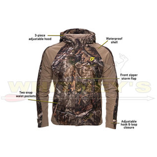 Shield Series Blocker Outdoors Drencher Jacket w/ Hood (D3010) MO Country DNA, X-Large