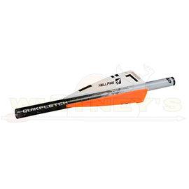 "New Archery Products (NAP) NAP Quikfletch 3"" Hellfire STD, W/O/O, 6PK"