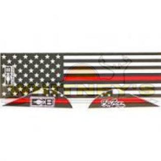 Bohning Company, LTD Bohning Blazer Vanes/Wraps First Responder- 101042FR