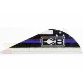 Bohning Company, LTD Bohning Blazer Vanes/Wrap Law Enforcement- 10832LE2