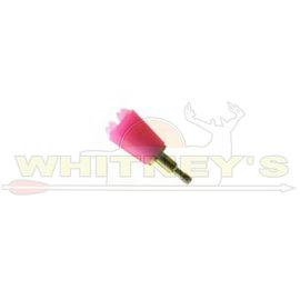 Saunders Archery Saunders Bludgeon 125 Gr. Screw -In, Pink-5708P