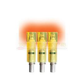 Burt Coyote Co., Inc. Burt Coyote Lumenok Excalibur Firebolt HD Orange Flat Bolt End - 3 Pack