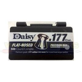 Daisy Daisy .177 Precision Max Flat Nosed Pellets, Black- 500CT-990557-512