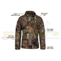 Shield Series Blocker Outdoors Drencher Jacket W/Hood MO Country - 2X-LARGE