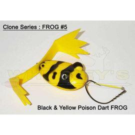 Designer Bass Frogs Capt Kens Designer Bass Frogs Clone Series