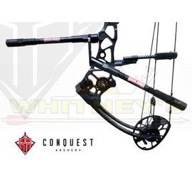 Conquest CF .500 Complete Hunter Bars W/Smac 10F - 8B Matte Black