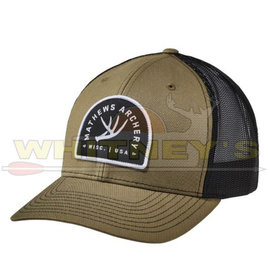 Mathews Apparel Mathews Antler Cap, Green/Black-70332