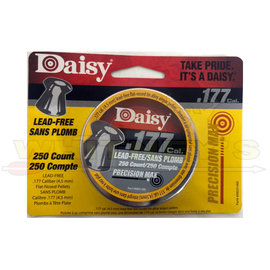 Daisy Daisy .177 Lead-Free Flat Pellets- 250CT