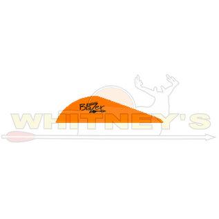 Bohning Company, LTD Bohning Blazer Vanes Neon Orange 100 PK- 10832NO2