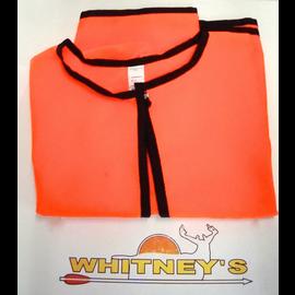 Heater Body Suit Inc. Heater Body Suit M, L, T Orange Overlay Zipper Style
