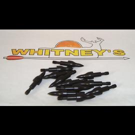 "Saunders Archery Saunders Combo Points 100 Gr. 11/32"" - For Crossbow Bolts - Half Dozen"