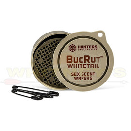 HS/Hunters Specialties Hunter Specialty / HS Scent Wafers BucRut Whitetail - Sex Scent