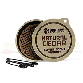 HS/Hunters Specialties Hunter Specialty / HS Scent Wafers Natural Cedar