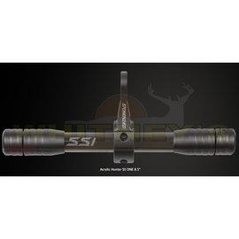 "Vapor Trail VaporTrail SS1 Acrylic 8.5"" Stabilizer, Smoke Black"