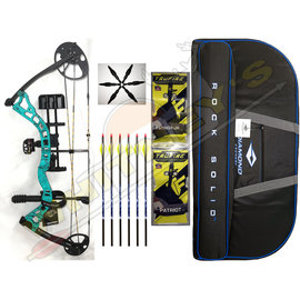 BowTech BowTech Infinite 305 RH 7-70# Teal Country Roots w/ package