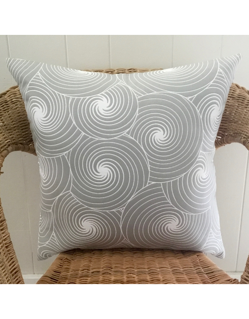 AZ Julia Grey Jacquard Pillow