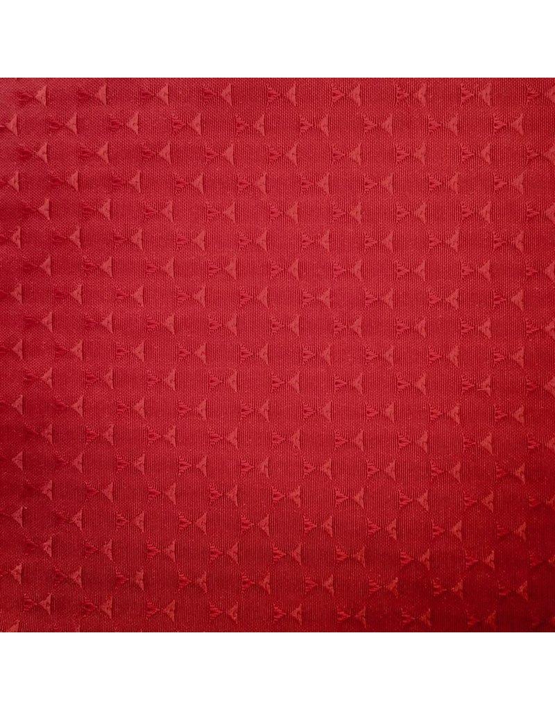 AZ Triangle Jacquard, Red