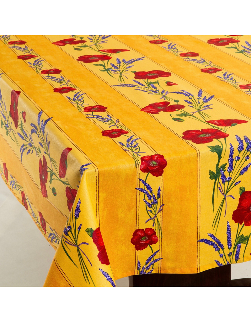 TOS Acrylic-coated Poppies Yellow