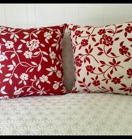 GEO Mercurio Red Jacquard Pillow