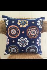 Boukhara Blue Pillow