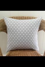 Lorenzo Light Grey Jacquard Pillow