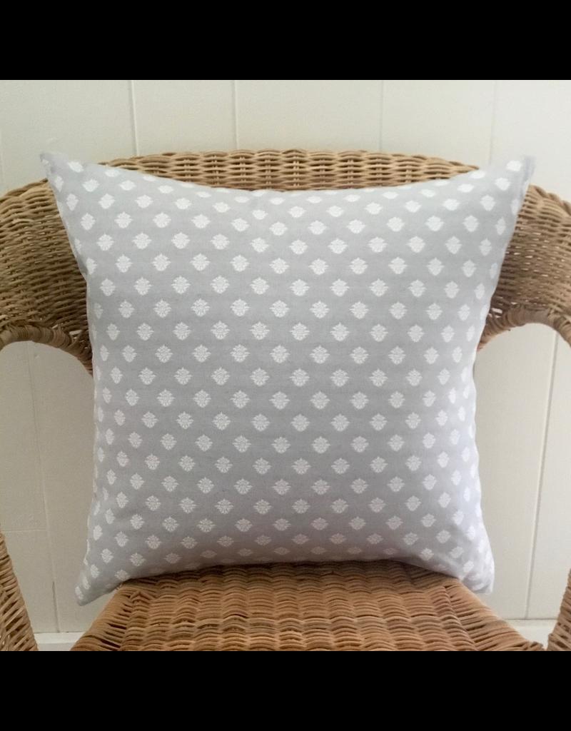 SAF Lorenzo Light Grey Jacquard Pillow