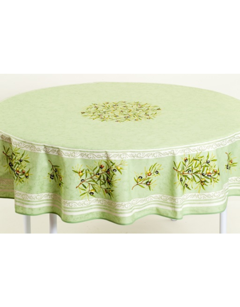 MFT Acrylic-coated Olives Green 70 in Round