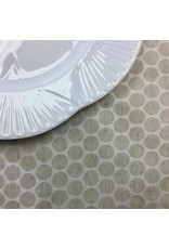 Amelie Michel Acrylic-Coated Gaugin Circles, Linen