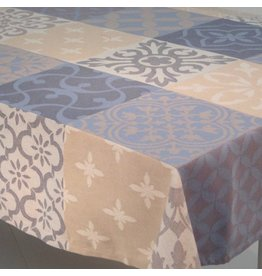 Carces Jacquard, Grey w/ Blue