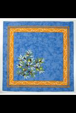 Napkin Olives Blue