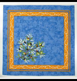 MFT Napkin Olives Blue