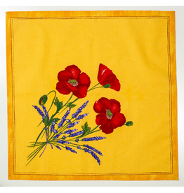 TOS Napkin Poppies Yellow
