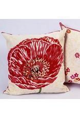 Pavot Lg Poppy Jacquard Pillow