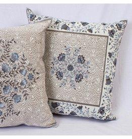 Aubrac Blue Jacquard Pillow