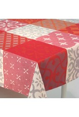 MFT Carces Jacquard, Grey w/ Red Orange