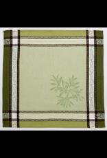 Napkin Olives Jacquard Green