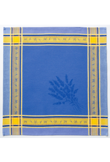 MFT Napkin Senanque Jacquard Blue